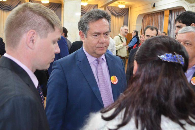 Первый съезд движения «За новый социализм» с участием лидера Николая Платошкина состоялся в Москве 7 ноября