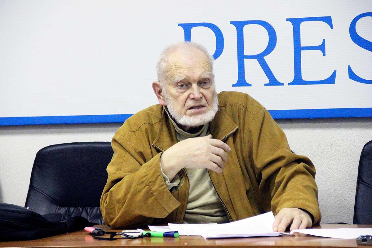 Эколог Алесей Яблоков