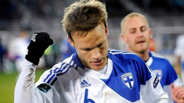 За всю историю футбола сборная Финляндии впервые вышла на чемпионат Европы