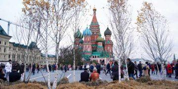 Ноябрьская погода в Москве
