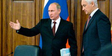 Белоусов и Путин