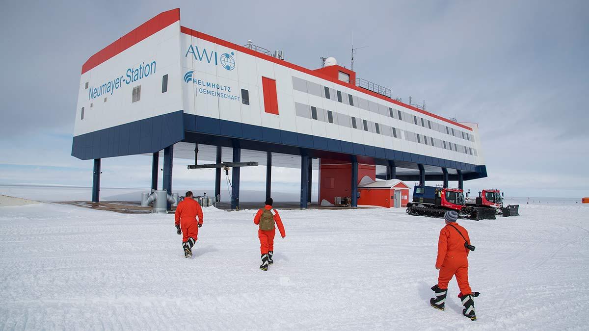 Антарктическая станция Neumayer