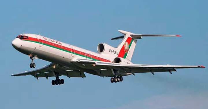 Самолет президента Белоруссии