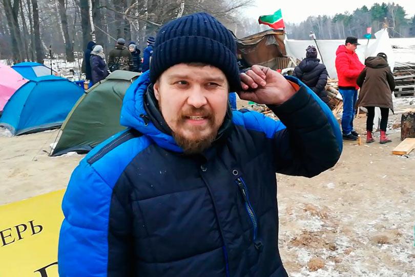 Олег Бурылов в диоксиново
