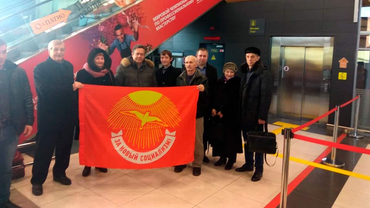 Встреча Платошкина в аэропорту Казани