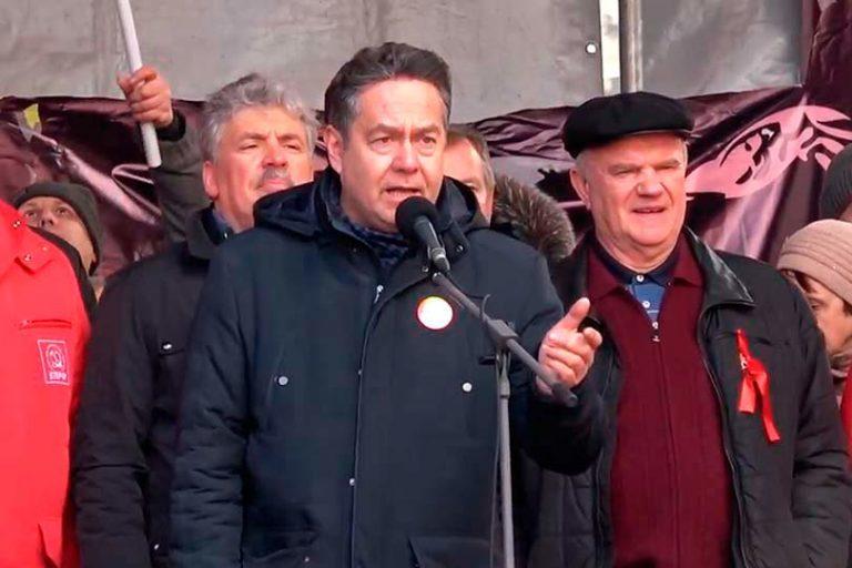 Распри и разногласия отброшены, Зюганов, Платошкин, Грудинин, Левченко и др., объявили о создании Народного Фронта