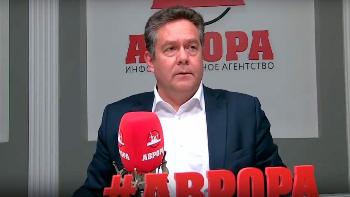Платошкин на радио Аврора