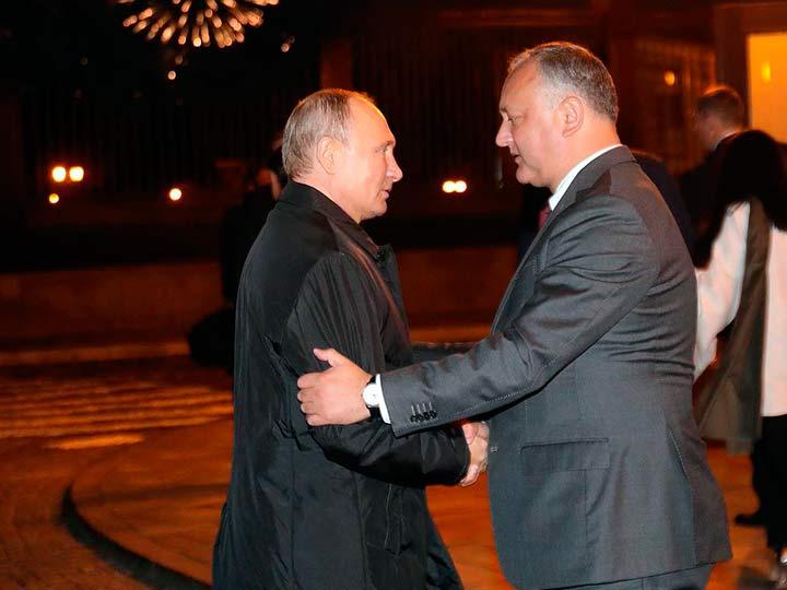 Додон охарактеризовал Путина, как человека, который никого не наказывает