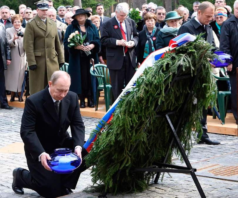 Путин в Катыне