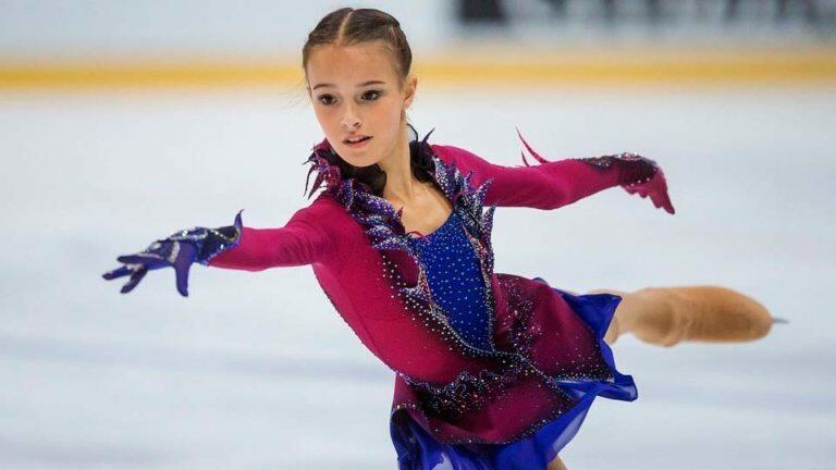 Чемпионкой России по фигурному катанию стала Анна Щербакова