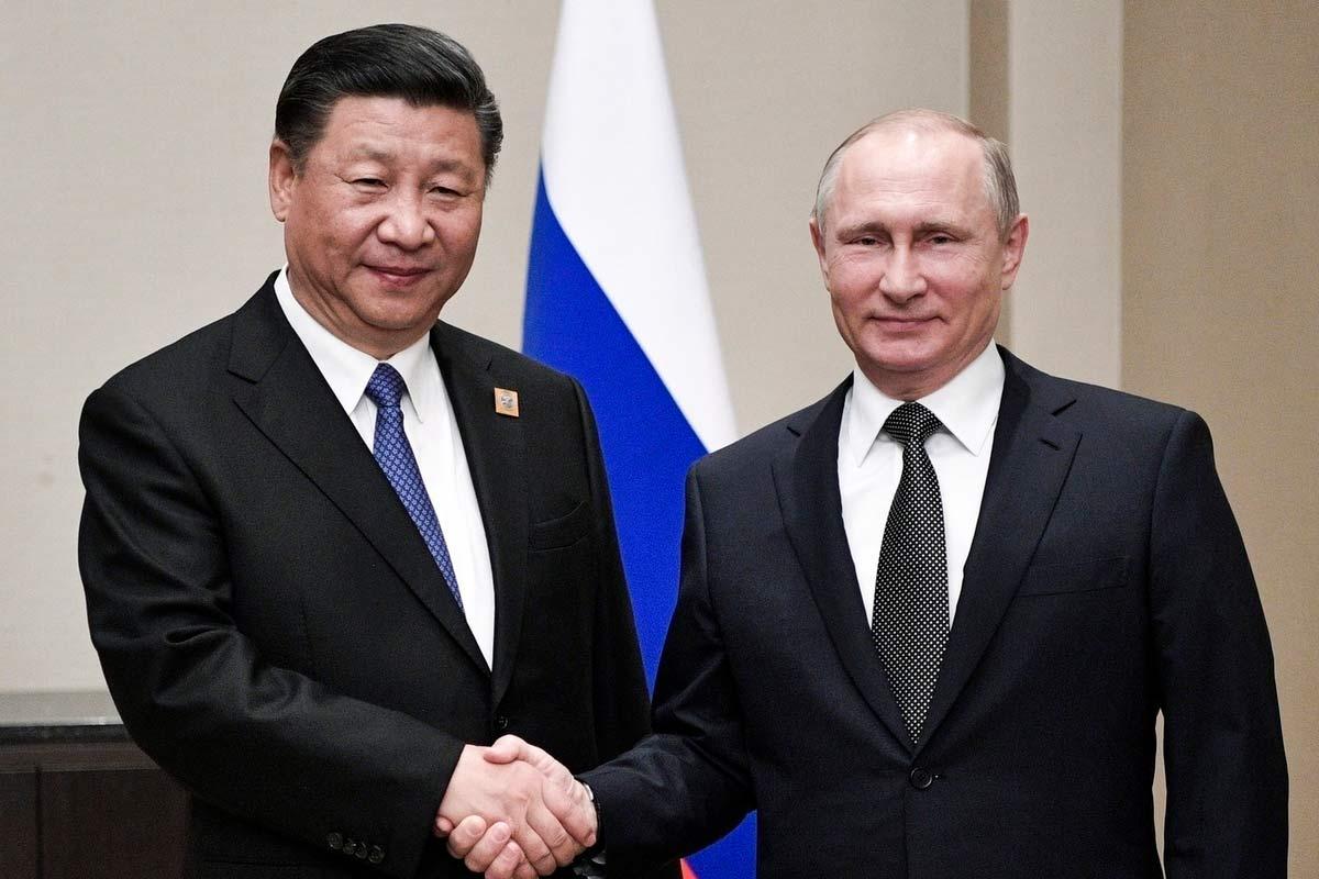 Путин и Си Цзыньпин