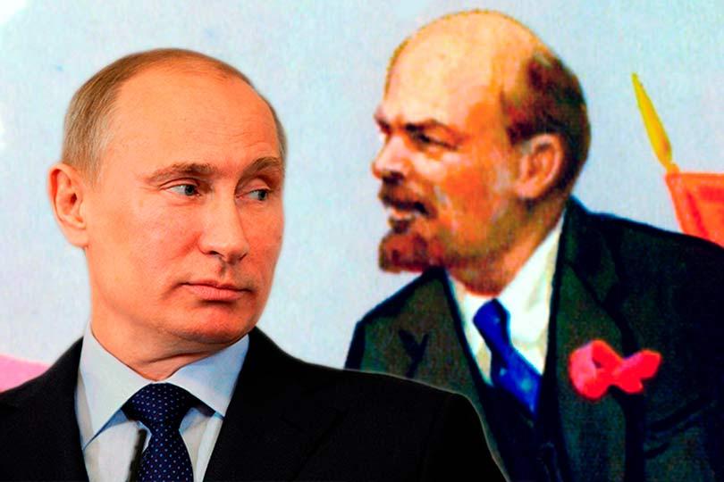 Путин и Ленин