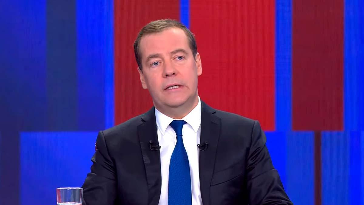 Медведев на пресс-конференции