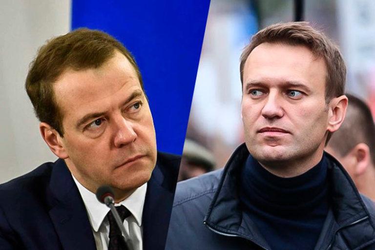 Навальный обвинил Медведева в использовании служебного положения