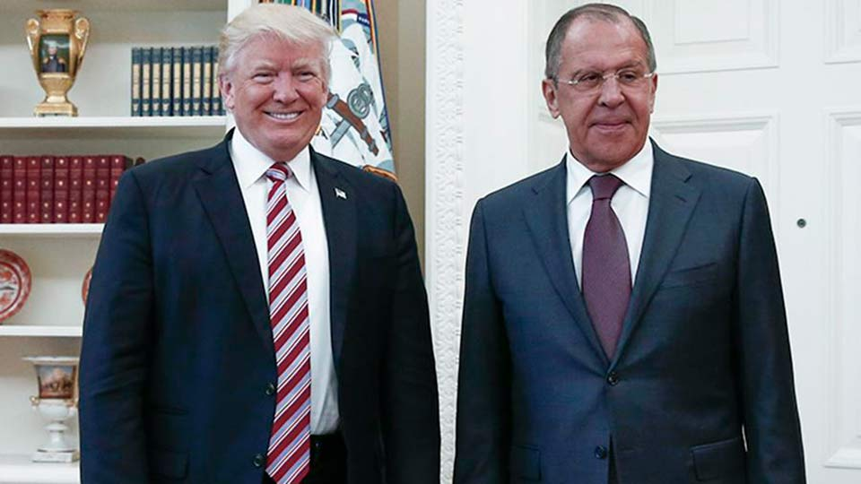 Лавров и Трамп