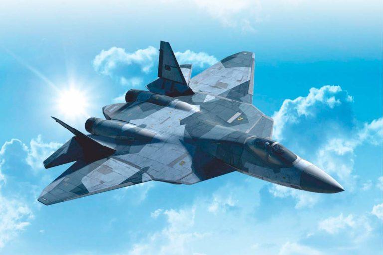 В тайге Хабаровского края разбился российский истребитель СУ-57
