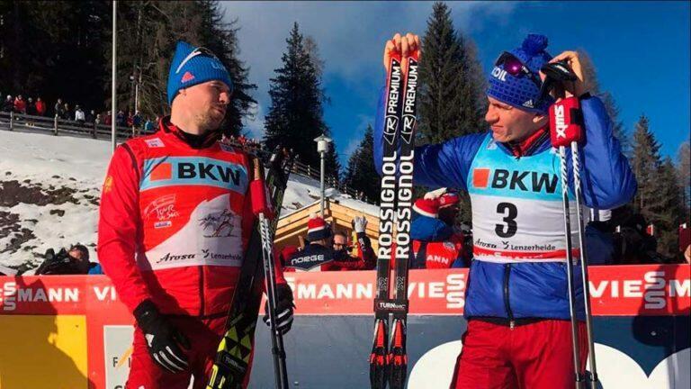 На «Тур де Ски» российские лыжники Устюгов и Большунов заняли призовые места