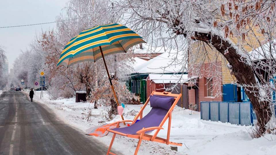 Потепление в РФ