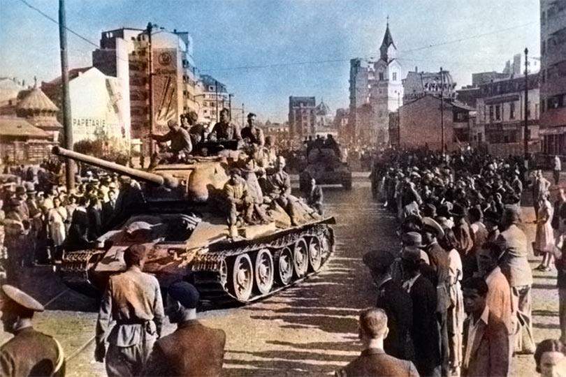 Красная Армия освобождает Европу