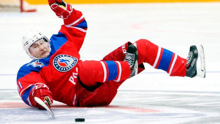 Песков рассказал о «тайне» хоккейных матчей, в которых играет Путин
