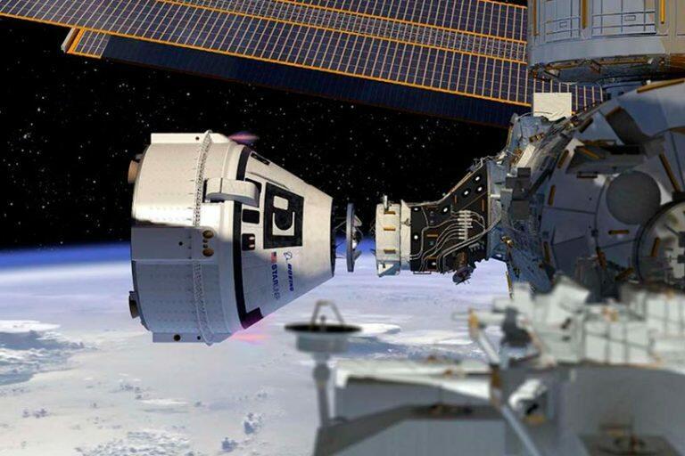О том, что американский космический корабль Starliner комплектуются российской деталью, подтвердила корпорация Boeing