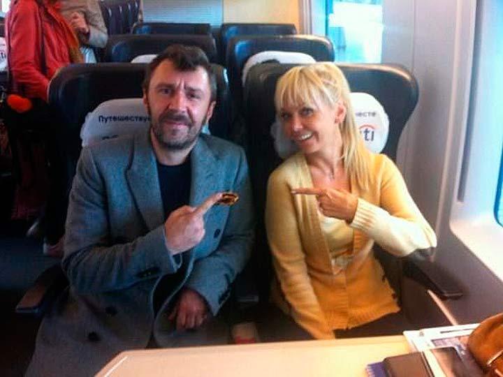 Шнуров и Валерия
