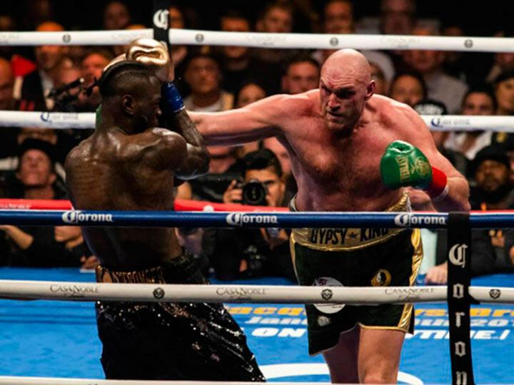 Британский боксер Фьюри победил Уайлдера и стал обладателем чемпионского пояса WBC