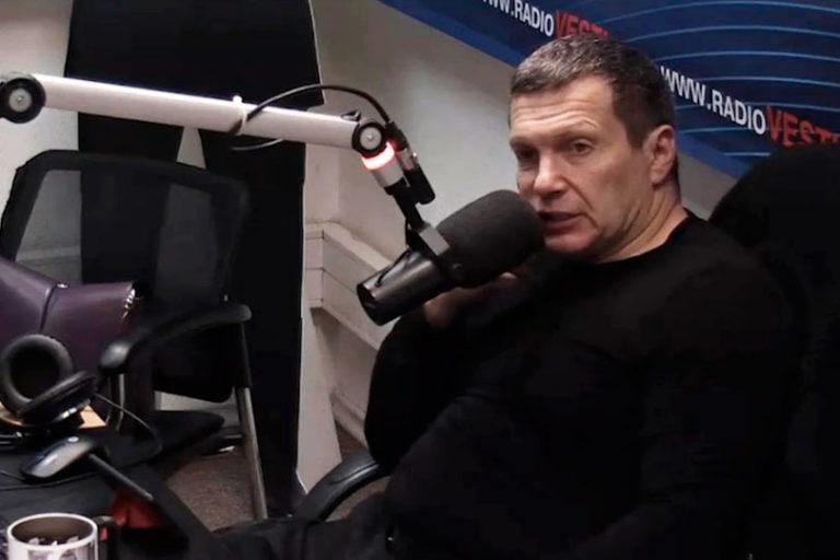 Сегодня Соловьев на «Вести FM» пылал праведным возмущением и пафосно обличал КПРФ в сотрудничестве с Ходорковским