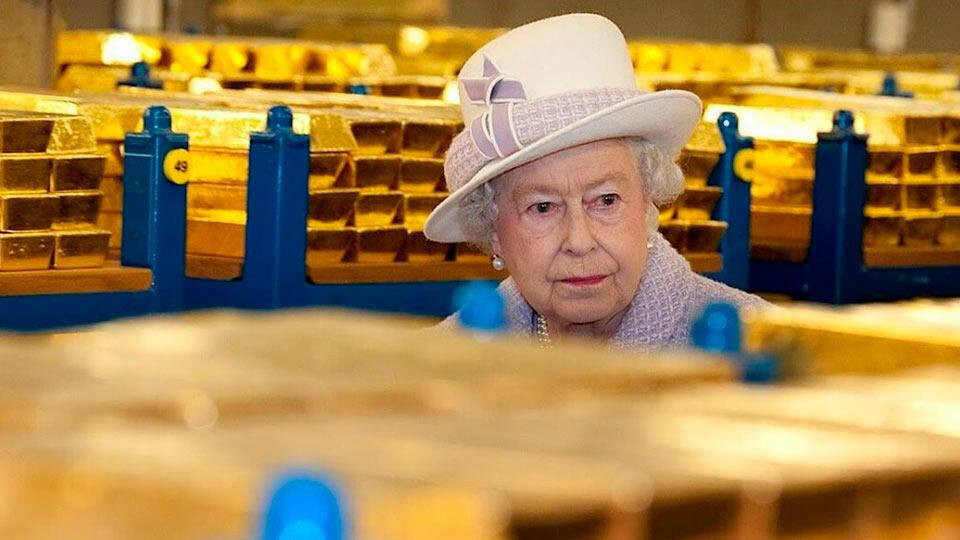 Королева и золотой запас Великобритании
