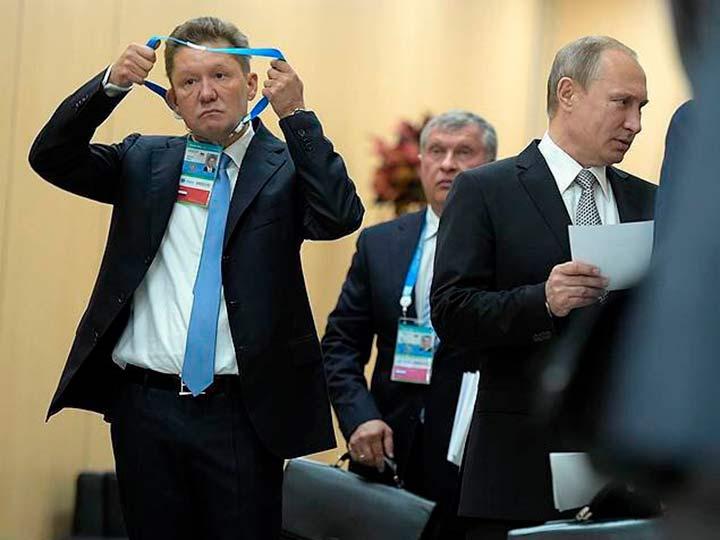 Путин с друзьями
