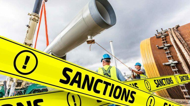 Немецкое издание Handelsblatt сообщило, что при попытке достроить «Северный поток – 2», США введут новые санкции