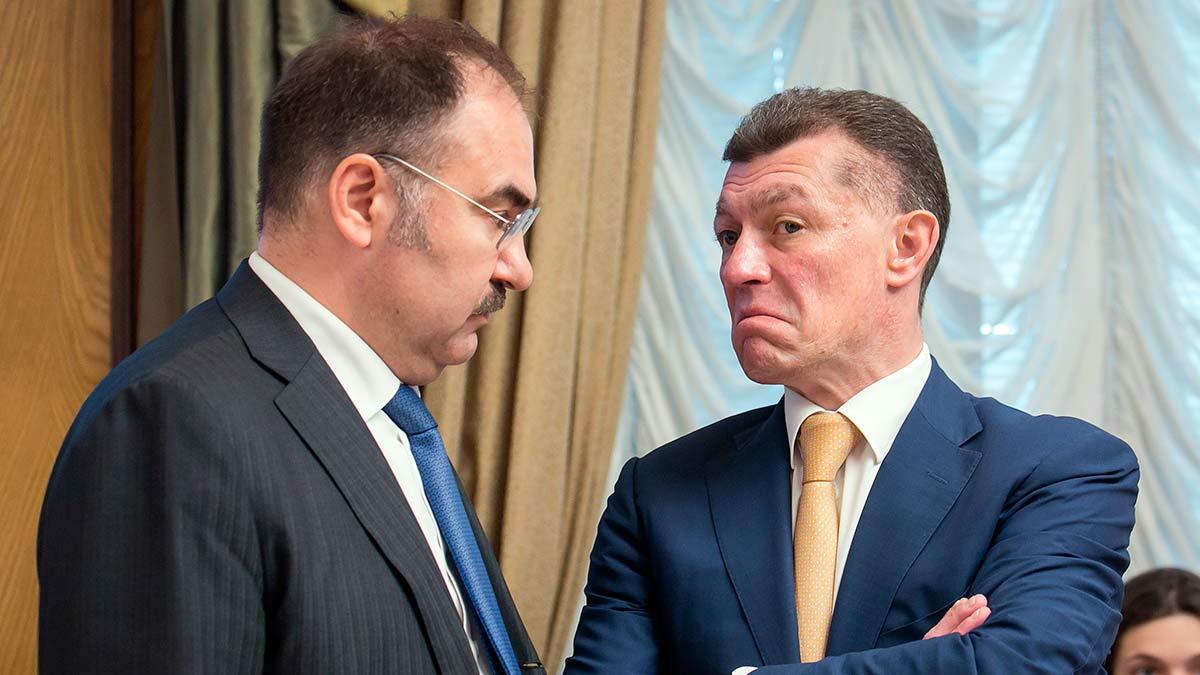 Топилин и Дроздов