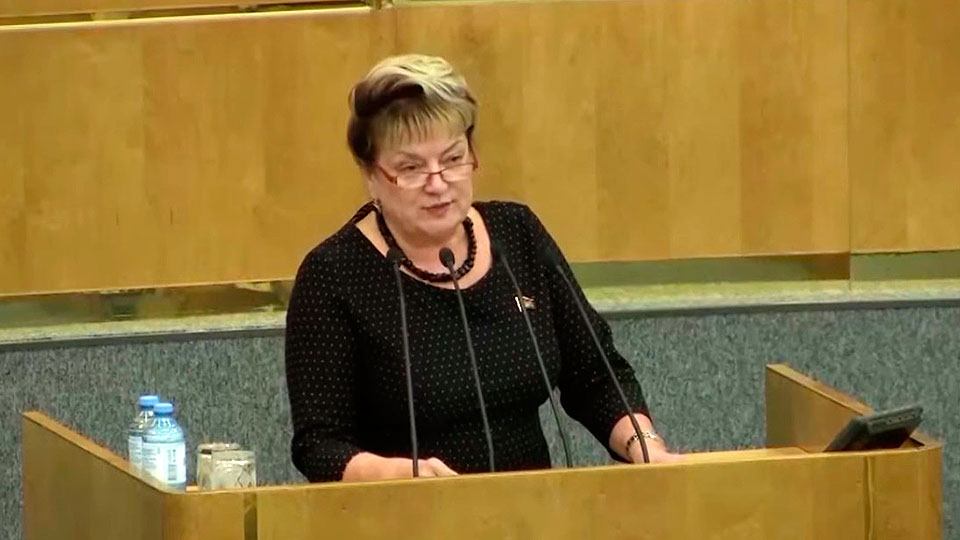Депутат Ольга Алимова