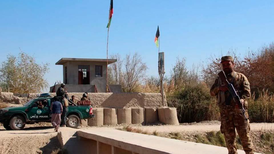 КПП в Афганистане