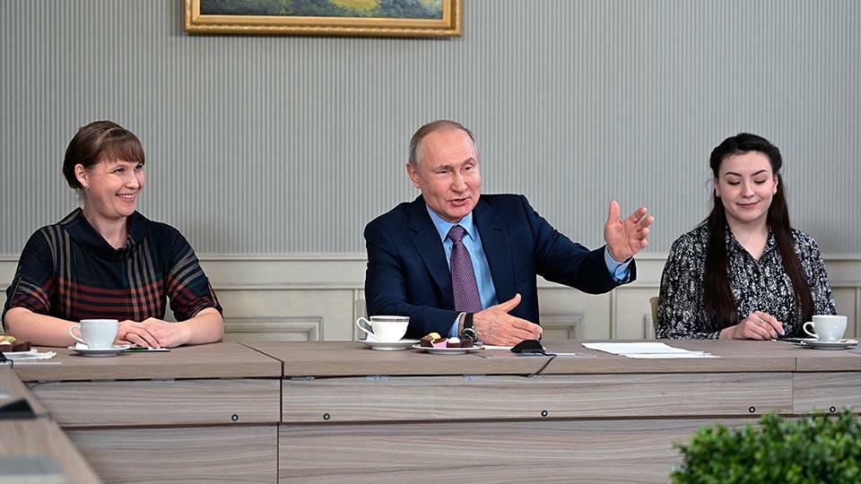 Путин в Иваново