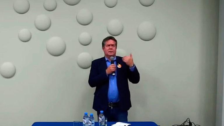 Выступая в Калинине Платошкин заявил, что коррупционная составляющая в действиях чиновников, достигает 50%