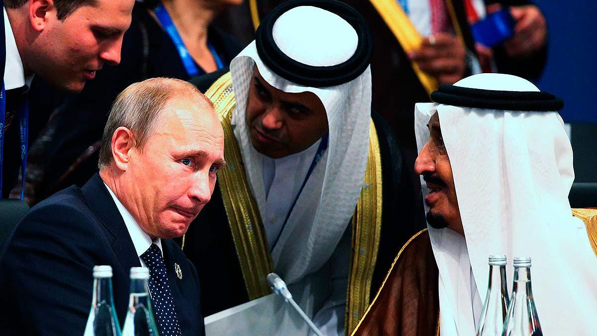 Путин и Саудиты