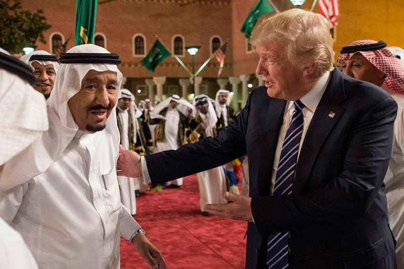 Трамп и Саудиты