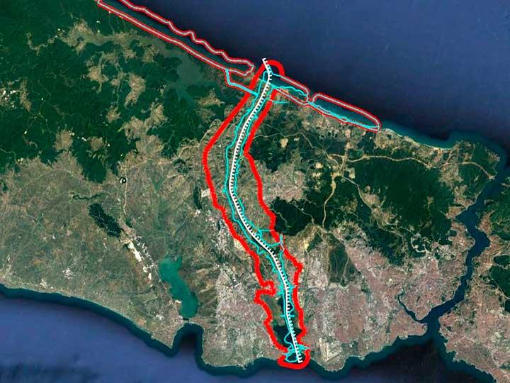 Строительство канала Стамбул