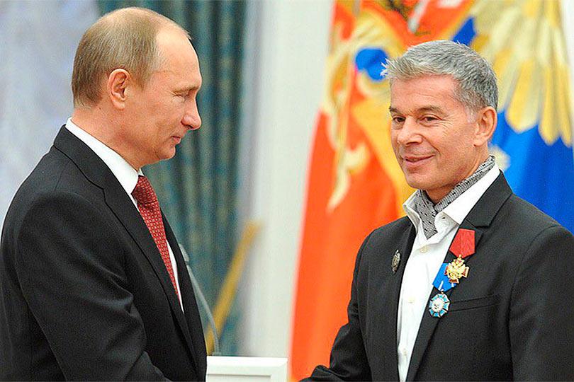 Газманов и Путин