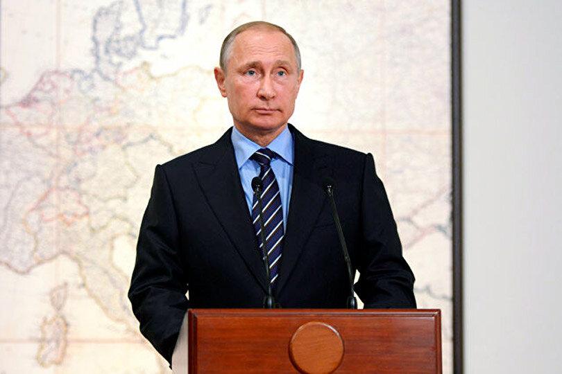 Президент РФ Путин