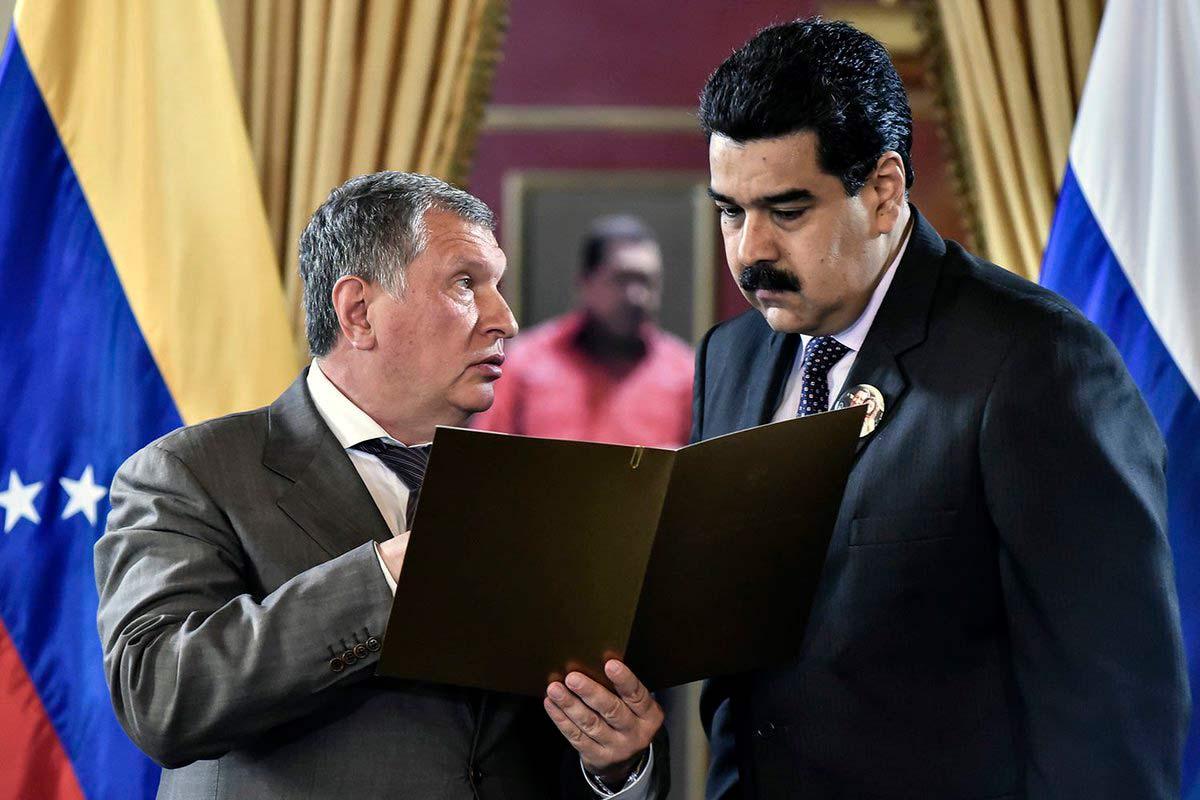 Сечин и Мадуро