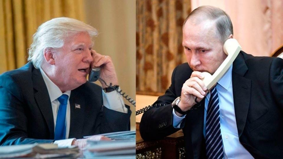 Путин с Трампом