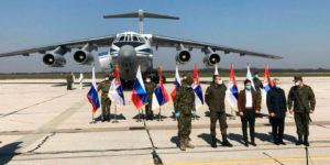 Для борьбы с коронавирусом Россия отправила в Сербию 11 самолётов