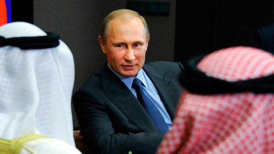 Путин и ОПЕК+