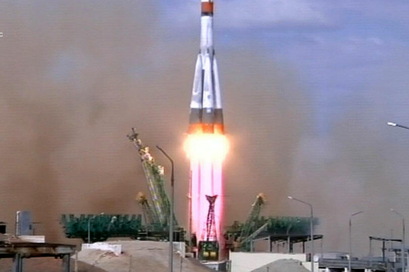 Запуск Союз-2.1а