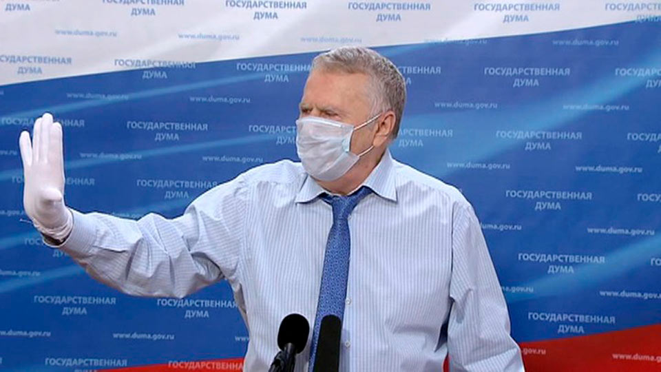 Жириновский в маске