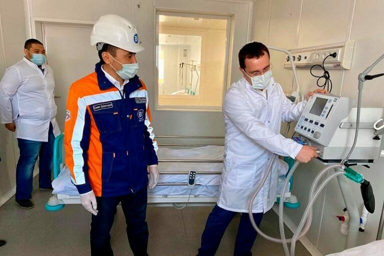 Для борьбы с коронавирусом в Казахстане построили инфекционную больницу за 13 дней