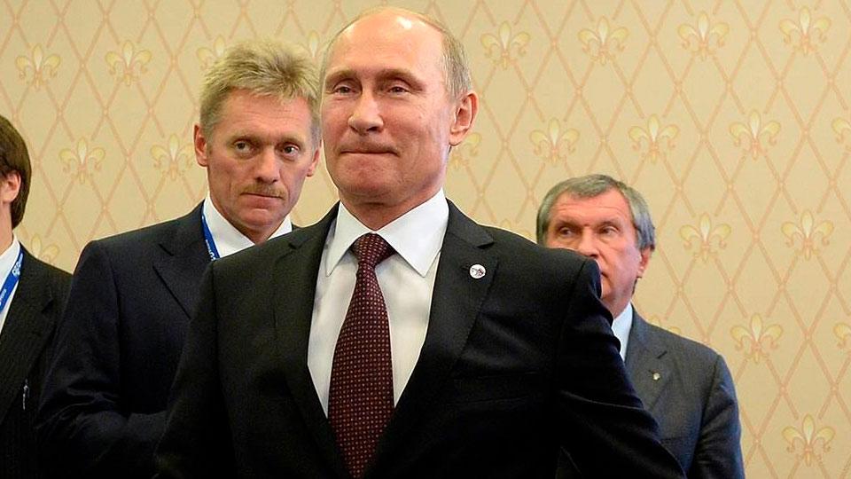 Путин, Песков и Сечин