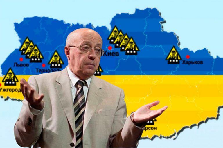 Кургинян в «Воскресном вечере с Соловьевым», озаботился бактериологическими лабораториями США на Украине